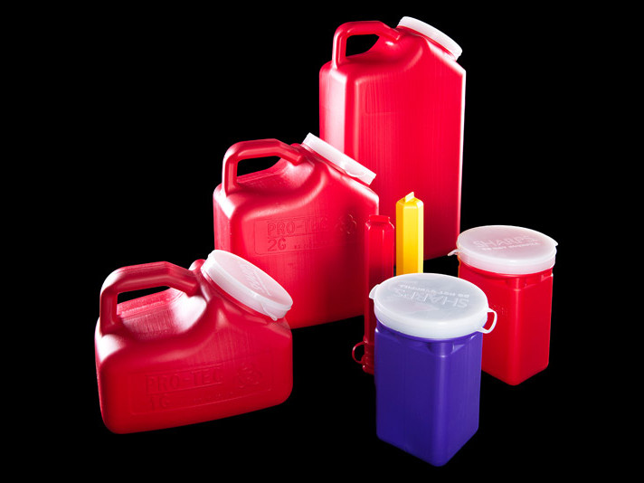 Blow Molded Sharps Containers