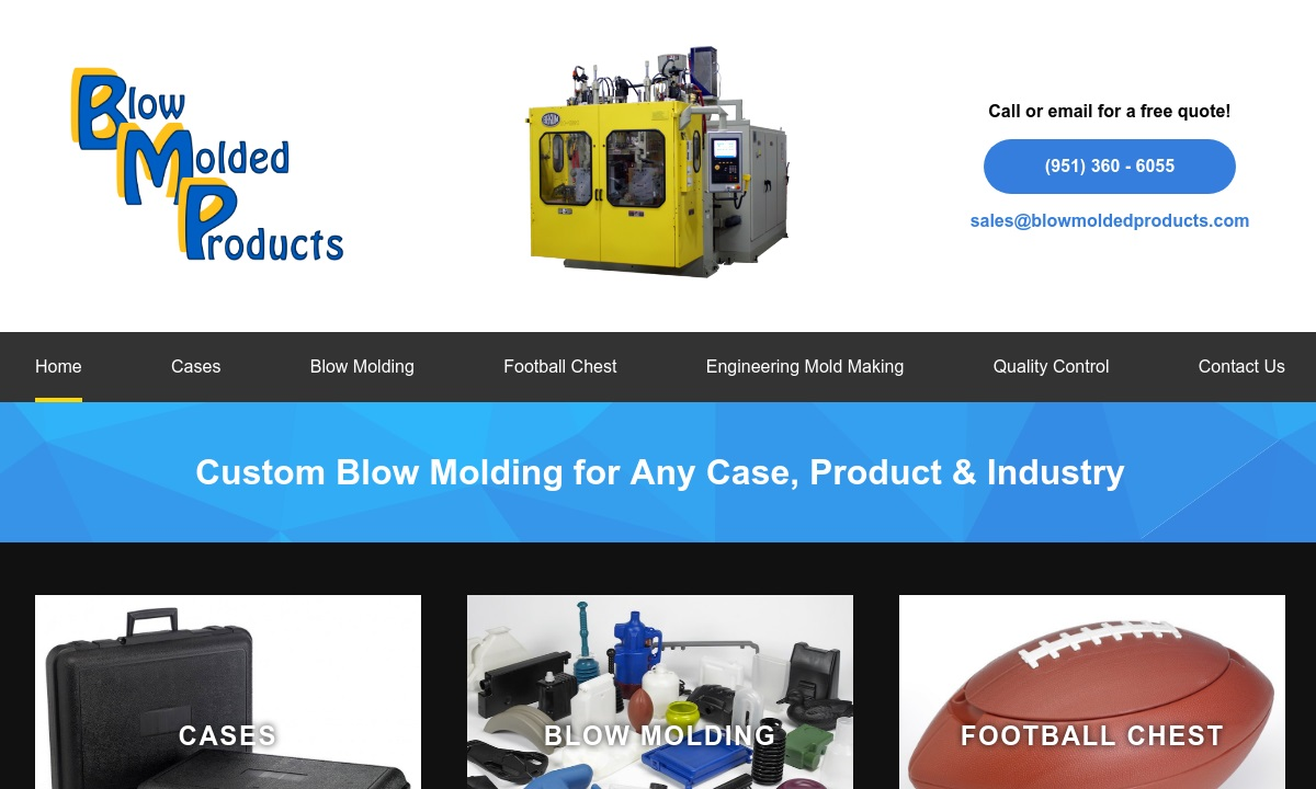 Blow Molding Manufacturers | Blow Molding Suppliers