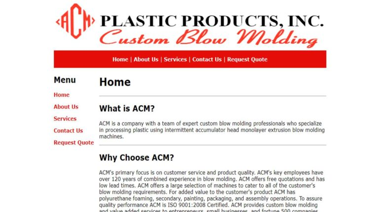 ACM Plastic Products, Inc.