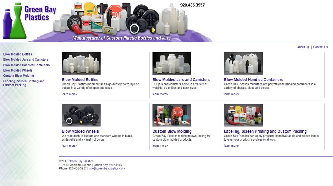 More Blow Molded Plastics Listings