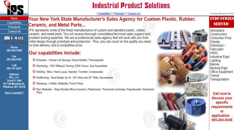 Industrial Product Solutions