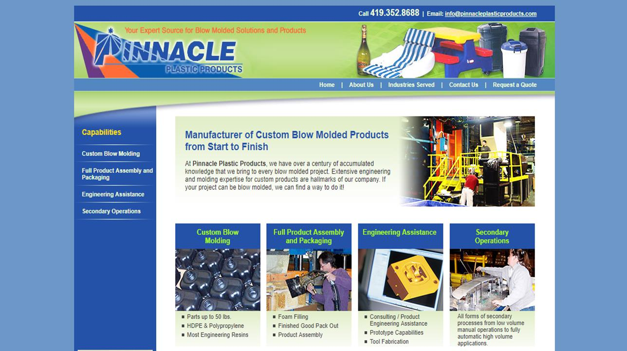 Pinnacle Plastic Products, Inc.